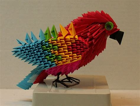 3d origami macaw 3d origami macaw 28 images 3d origami macaw by dfoosdc