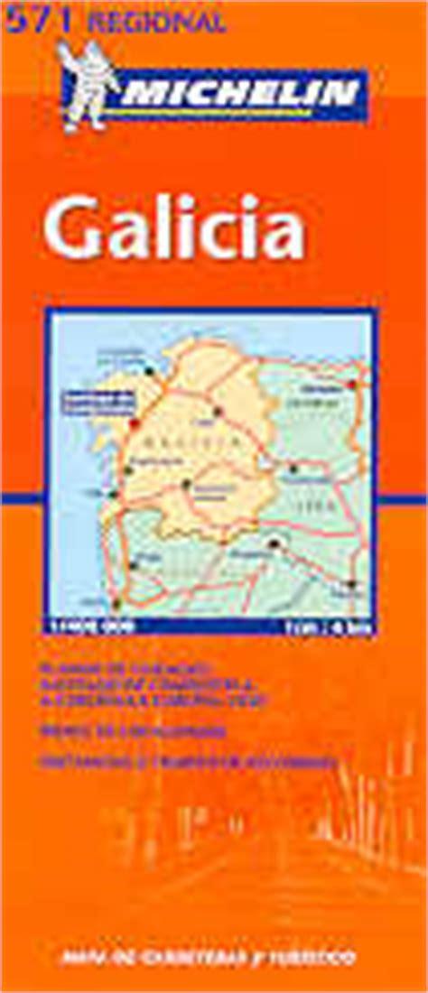 galicia regional map 571 2067184105 mappa stradale n 571 galicia galizia con santiago de