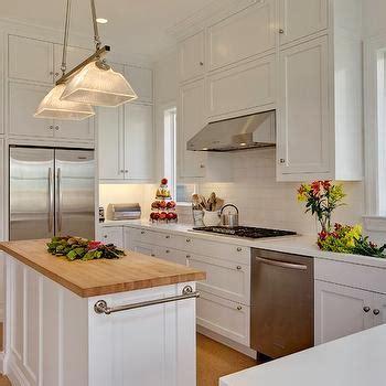 grey kitchen island butcher block top design ideas within
