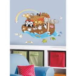 Giant Wall Stickers For Nursery New Large Noah S Ark Wall Decals Baby Nursery Noahs Arc
