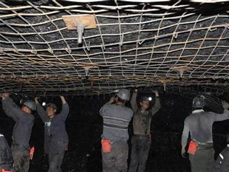 composite mine supporting mesh high safety & low ductility