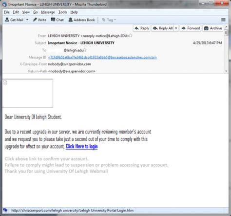 fake email sign in alert library technology services recent phishing exles login library technology services