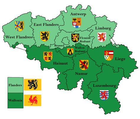 belgium provinces map belgium provinces map by samogost on deviantart