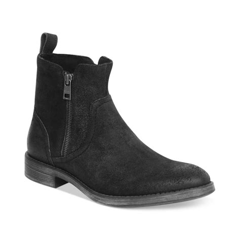 marc mens boots marc new york zip boots in black for black