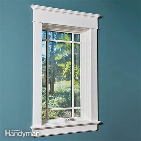 interior vinyl window trim installing window trim the easy way mdf trim molding