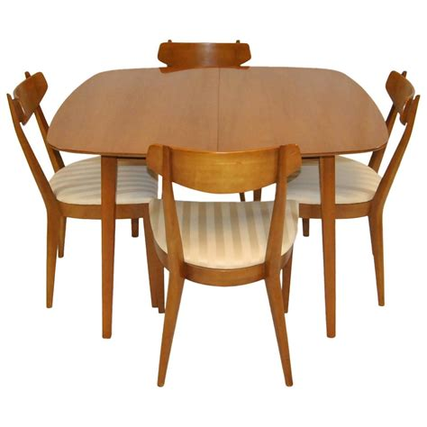 mid century modern dining set by kipp stewart for drexel