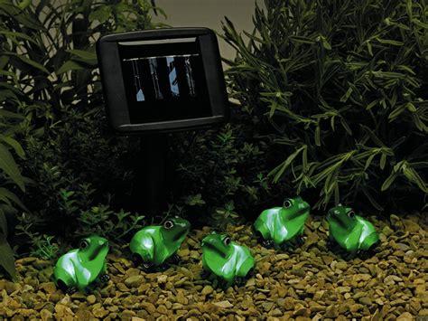 Frog Solar Lights Smart Solar Frog Lights String Of 5 163 12 99