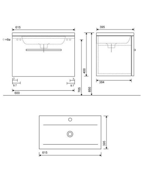 slimline vanity units bathroom furniture wood slimline 60cm wall hung vanity unit