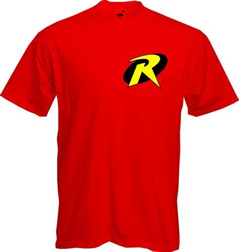 T Shirt Robin Yellow robin batman comic book fancy dress