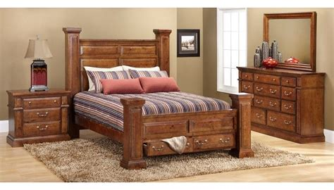 slumberland bedroom furniture slumberland furniture torreon collection pine 4 pc room package slumberland furniture