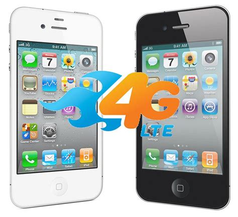 Iphone 4 Iphone 4s are the iphone 4 and iphone 4s 4g phones