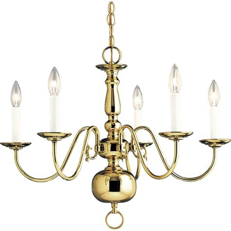 chandelier height 10 foot ceiling progress lighting p4355 10 polished brass americana five