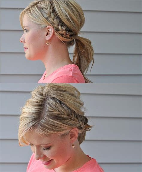 hair stayel open daylimotion on pakisyan half braid ponytail the small things half braided