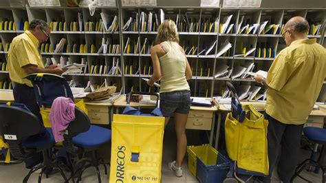 oficina de correos bilbao se necesitan 1 600 personas para trabajar en correos