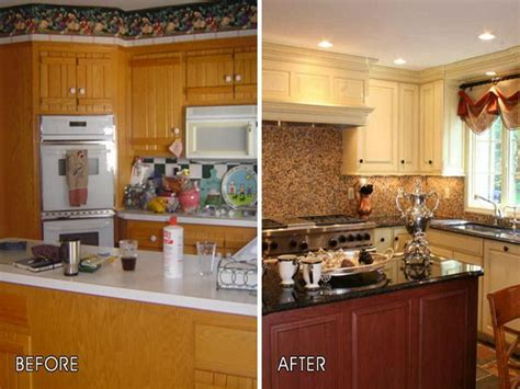How To Remodel Kitchen Cabinets Cheap by Cheap Kitchen Makeover Projects Diycraftsguru