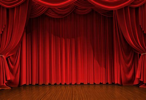 theatre curtain background stage