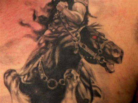 blackfoot indian tattoos blackfoot indian on horseback