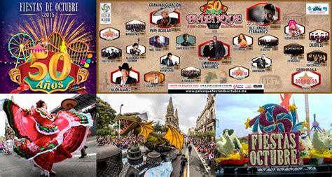 imagenes fiestas de octubre calendario de las fiestas de octubre 2015 zona guadalajara
