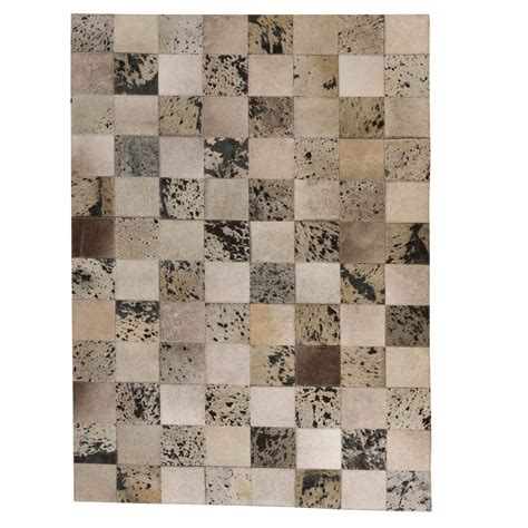 Patchwork Cowhide Leather Rugs - buy patchwork leather cowhide rug 120x180cm sku 11p4156