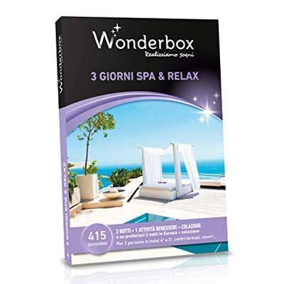 wonderbox soggiorno spa e relax i migliori cofanetti regalo benessere