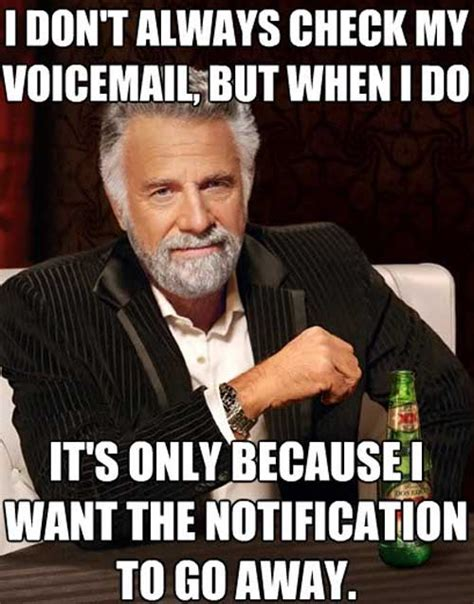 Check Meme - the reason why my voicemail s disabled
