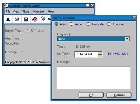 alarm clock software