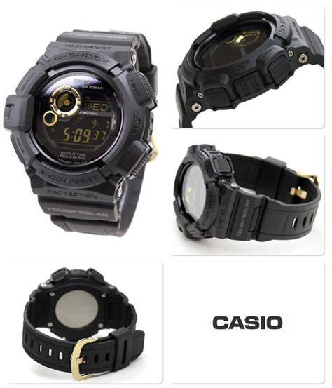 Casio G Shock G9300gb 1 by Buy Casio G Shock Mudman Master Of G Black Motif G