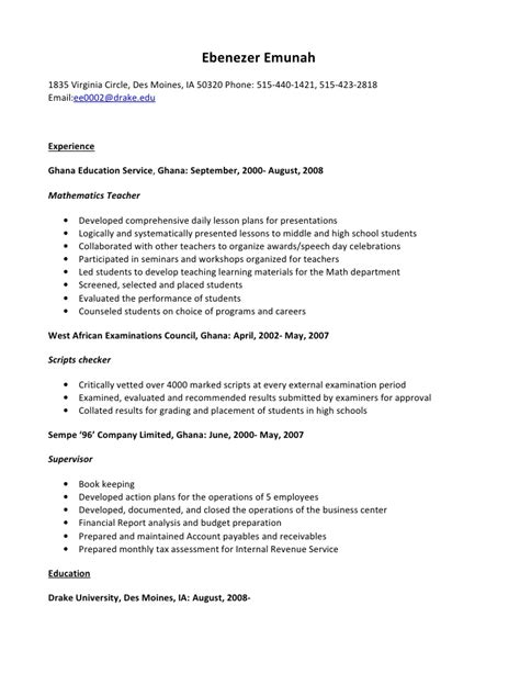 resume housekeeping resume sles housekeeping resume housekeeping supervisor resume