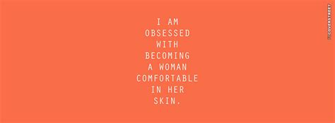 comfortable in her own skin be yourself facebook covers