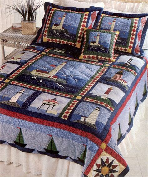 quilt pattern lighthouse sailboat lighthouse quilt quilts and comforters