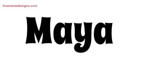groovy  tattoo designs maya  lettering