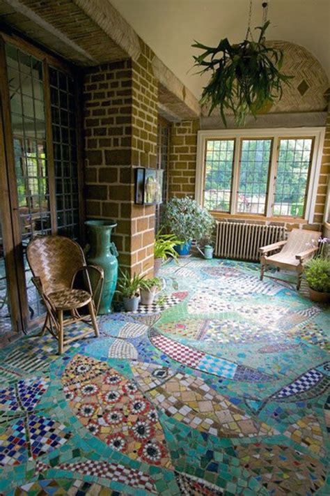 Mosaic Floors by 30 Mosaic Design Ideas
