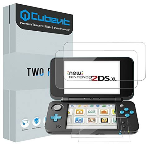 New 3ds Xl Gatz Tempered Glass Protector nintendo 2ds xl screen protector cubevit 2 glass