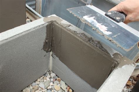 concrete planter diy modern minimal concrete planter boxes