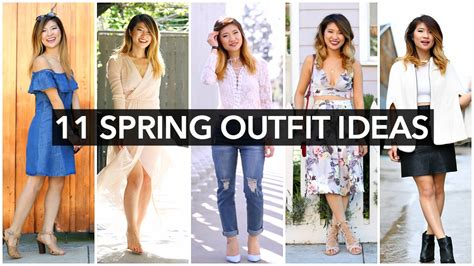 spring outfit ideas spring fashion trends  youtube