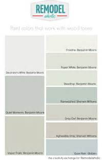 colors that go well with grey remodelaholic choosing paint colors that work with wood