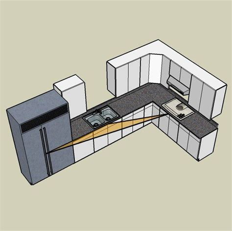 The L Shaped or Corner Kitchen Layout: A Basic Guide