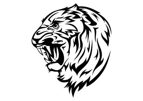 gambar tattoo png gambar kepala harimau tiger head vector coreldraw cdr