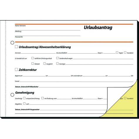 Muster Bestell Formular Formular Urlaubsantrag Zum Conrad Shop 000775297