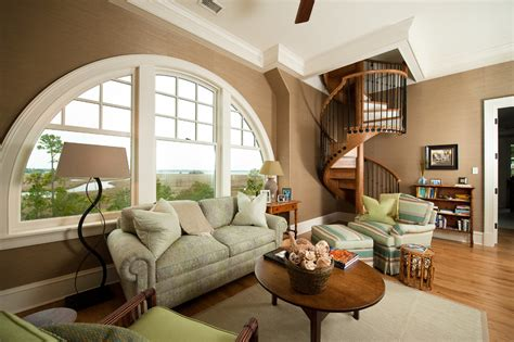 house design living room upstairs stair basket with white wood living room traditional and
