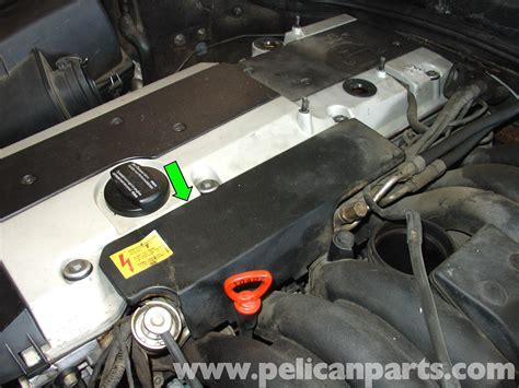 how to replace fuel resistor mercedes w210 fuel pressure regulator replacement 1996 03 e320 e420 pelican parts diy