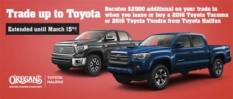 toyota credit canada contact promotions o regan s toyota halifax