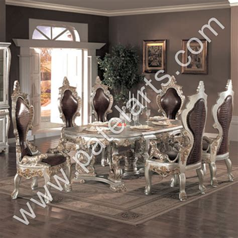 traditional indian dining table silver dining tables dining table silver dining table