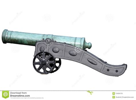 ottoman cannons bronze turkish cannon on cast iron carriage stock photo