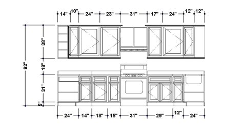 Kitchen Cabinets Layout Design Kitchen Kitchen Cupboard Pencil And In Color Kitchen Kitchen Cupboard