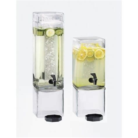 Dispenser Elegan Square Clear Beverage Dispensers Item 1112 1 Showcase Your Beverages With This And