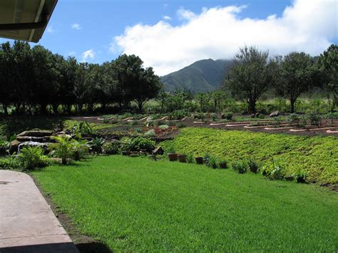 Ocean View Home For Sale In Wailuku Country Estates Maui Vegetable Gardening In Hawaii