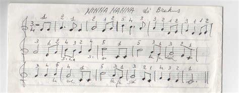 ninna nanne testi il mio primo brano a una mano ninna nanna di brahms