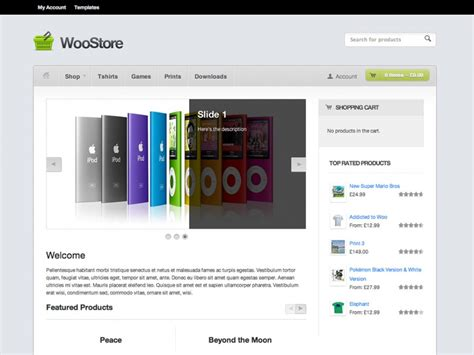 woostore themes woostore theme by woothemes justwp