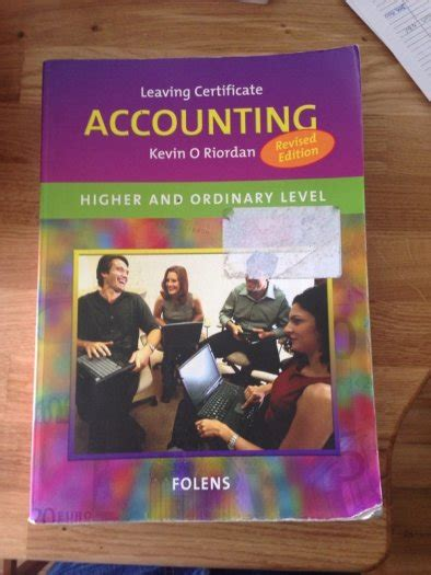 accounting secondary school book for sale in thurles